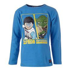 """STAR WARS(TM) Langarm-T-Shirt Tristan """"Yoda""""    Wenn Kinder die Geschichten der Star Wars(TM) Saga mit ihren LEGO-Steinen nachspielen, kann es nichts besseres geben. Und wenn Sie Ihrem Sohn dieses Shirt überziehen, werden die Augen heller als ein Lichtschwert strahlen.    LEGO® Wear STAR WARS(TM) Kinder Langarm-T-Shirt mit folgenden Besonderheiten:    - Thema: LEGO® STAR WARS(TM)  - schönes Lan..."""