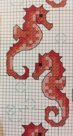 Cross Stitch Sea, Cross Stitch Bookmarks, Cross Stitch Cards, Cross Stitch Animals, Cross Stitching, Cross Stitch Embroidery, Cross Stitch Designs, Cross Stitch Patterns, Beading Patterns