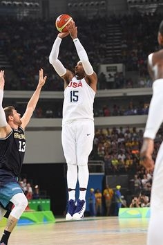 8962d51e146 Carmelo Anthony of the USA Basketball Men s National Team shoots against…  Rio 2016 Pictures