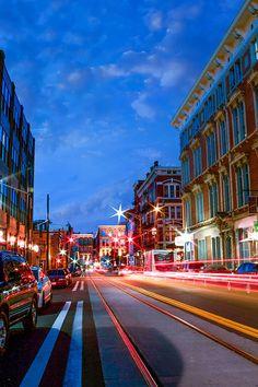 12th Street OTR Cincinnati!  Buy this print at www.beyondaglance.etsy.com  coupon code for 10% off available through Christmas! : SANTASGIFTOF10