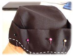 Aprende a coser una BANDANA de CHEF 🍜🍚🍝🍳🍲 — Steemit Bandana, Scrunchies, Bones, Sewing Patterns, Baseball Hats, Celebs, Embroidery, How To Make, Accessories