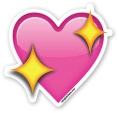 Sparkling Heart | Emoji Stickers