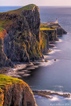 Você realmente sabia? Foto Arte: Neist Point, Escócia