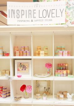 Craft show display idea for candles. Or this could work for smaller decor items, soap, accessories, etc.
