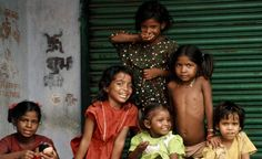 Little Hindu girls in India