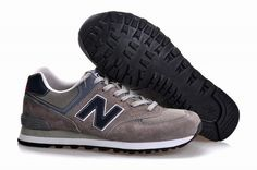 Joes New Balance ML574NSU Classic Grey Black Mens Shoes