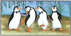 mary poppins penguins - Google Search