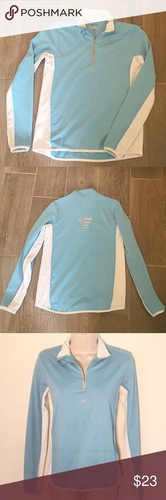 """❣BOGO 1/2 off❣Reebok pullover collared top small Flawless/like-new condition. Stretchy & soft cotton/poly blend. Size small. Approx 25"""" long, 18"""" flat across bust, & 22"""" sleeves. ❣Ask me how to BOGO HALF price! ✖️I do NOT MODEL✖️ 🔴Bundle to save! 🔴NO TRADES. 🔴REASONABLE offers welcome via offer button. Reebok Tops"""