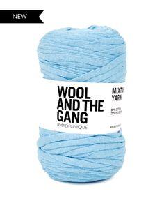 upcycled tshirt yarn