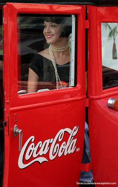 Coca cola retro.