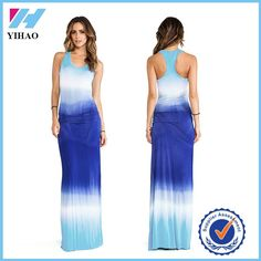 2016 Lady Green/white/blue Tie Dye Patterned Cusual D