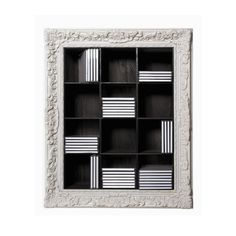 Heal's | Seletti White Framed CD Shelf - CD and DVD Storage - Office Storage - Office