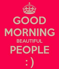 Buenos Dias gente hermosa!!!