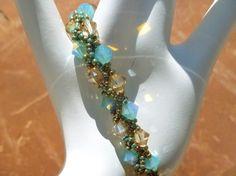 Golden Pacific Bracelet by jewelryinvegas on Etsy, $47.00