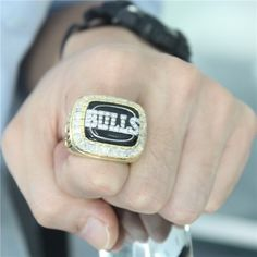 Custom 1992 Chicago Bulls Basketball World Championship Ring