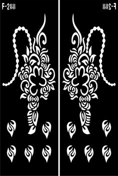 HOW TO APPLY: just stick it on the area apply a thin layer of henna over the top, leave henna to dry, remove stencil and wash your hand, and your done. Stencil Stickers, Cricut Stencils, Henna Tattoo Stencils, Designs Henna, Engagement Mehndi Designs, Stencil Patterns, Temporary Tattoo, Hand Henna, Resin Art