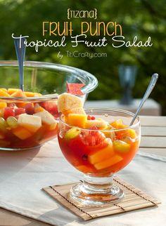 Tizana. Fruit Punch Tropical Fruit Salad Recipe