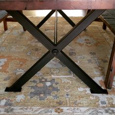 Items similar to 1 set cast iron table legs for industrial tables on Etsy