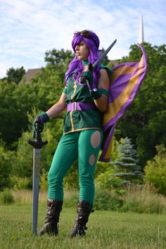 Aethia (Neopets Battle Faerie) cosplay -- MUST DO!!