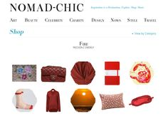 FIRE http://www.nomad-chic.com/shop/view-by-destination/fire.html
