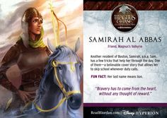 We have to talk about Samirah. This glorious concoction of a character. Just your usual teenage Muslim demigod Valkyrie. I LOVE SAM. My best friend is Muslim and I have to admit I've grown to have a great appreciation and respect for the religion so when I found out about Sam I was all ASDFGHJKKL YEAS. She just flicked her middle finger at everyone who ever thought anything bad about Muslims. She works her hajab she's in love with Hot Amir,(see next pin)