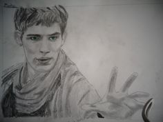 This is a drawing of Merlin that I, @HannahJackfield did! I think it turned out somewhat okay!