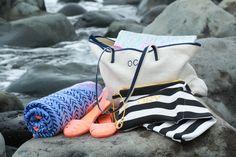 All We Love Linen Bag, Roxy Hazy Towel, Igor Paris Sandals, My Bags and Me My Things Bag, Mantos Bags.jpg