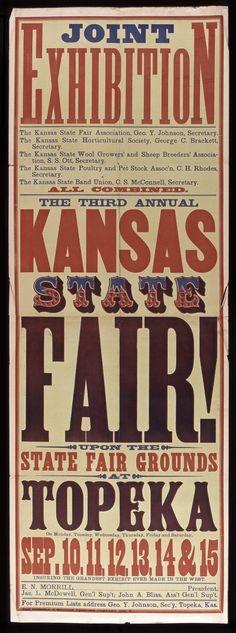 kansas fair poster