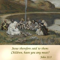Children, have you any meat?  #daughtersofmarypress #daughtersofmary #easter