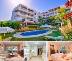 Stunning, first line beach complex apartment for sale on the prestigious Golden Mile, Marbella, enjoying immaculate conditions and perfect location… Luxury Property For Sale, 2 Bedroom Apartment, Apartments For Sale, Mansions, House Styles, Beach, Home, Manor Houses, The Beach