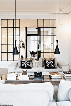 interior decorating tips: 10 interiores con puertas de cristal y marco beautiful interiors with black framed glass doors
