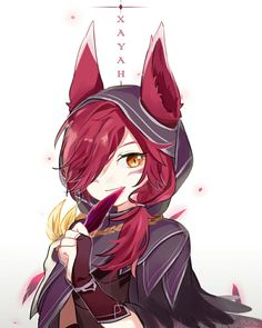 Xayah• ♥- League of legends
