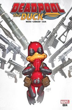 Deadpool the Duck n°4 (22.02.2017) // Things are getting out of control for Deadpool the Duck! Howard has finally escaped the Negative Zone to regain control of his shared body. But when Roxxon attacks, where are Deadpool's mercenary skills when he needs them?  #deadpool #the #duck #marvel #comics