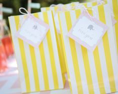 Pinwheels themed pink, yellow, and teal birthday party | Decor, tableware and linens for a birthday in a box