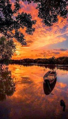 Magical sunrise ~