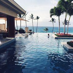 Infinity pool x Palms
