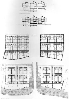 Diagrams show the sections and floor plans. But it is really clear about which space is private , which is public. From sections, private space and public space also clearly distinguish, because some spaces are closed by cyclopic wall, some are open by big glass windows, which introduce the sun light into the room