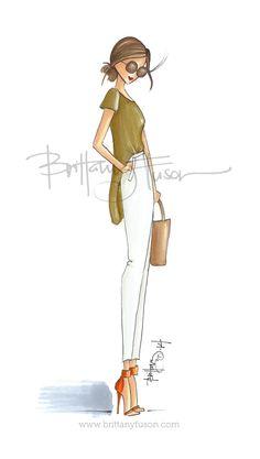 Brittany Fuson: Olive Orange
