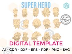SUPER HERO for LASERCUT cut files clipart Silhouette Dxf Eps | Etsy Microsoft Word, Vinyl Sticker Paper, Vinyl Decals, Marvel Dc, Silhouette Cameo, Cnc Router Plans, Birthday Invitations, Wedding Invitations, Vinyl Labels