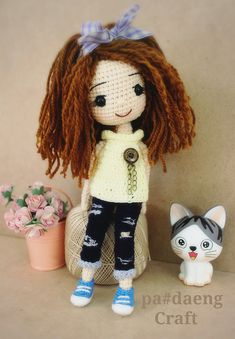 Crochetdoll ♡ lovely doll