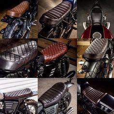 Look at many of my favorite builds - custom-made scrambler ideas like Cafe Racer Honda, Cafe Racer Build, Motorcycle Seats, Cafe Racer Motorcycle, Bike Seat, Motorcycle Hair, Grom Motorcycle, Motos 125cc, Dominator Scrambler