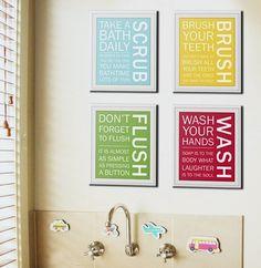 Art for Kids' Bathrooms