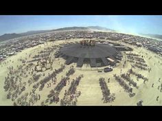 ▶ Burning Man 2013 [by drone]: In the Dust, Above the Dust - YouTube