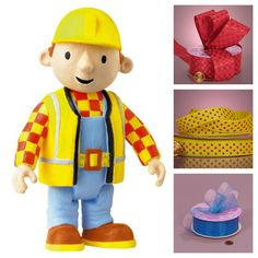 Ribbons that match Bob the Builder