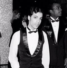 Prince • 1986 'Parade' (Under The Cherry Moon) Era with  Jerome Benton, backstage at The American Music Awards.
