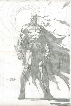 Batman by DavidFinch