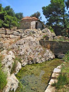 The Sacred Spring, Achaeological Site of Vravrona (Sanctuary of Artemis), Vravrona, Athens