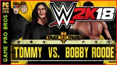 WWE 2K18 - Tommy Wiseau Superstar - Game Pro Bros
