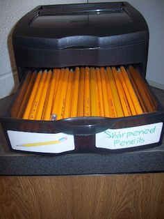 She has some FANTASTIC ideas here on organizing your classroom.