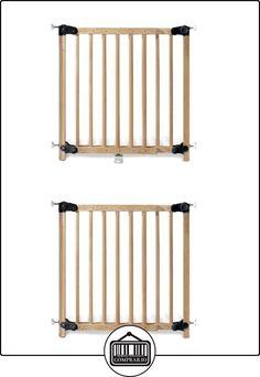 Pinolino - Puerta de seguridad para escaleras (madera) marrón naturaleza  ✿ Seguridad para tu bebé - (Protege a tus hijos) ✿ ▬► Ver oferta: http://comprar.io/goto/B00B5RIBUS